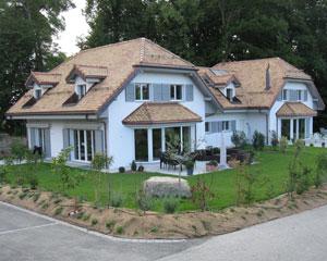 Construction de 4 villas à Chigny