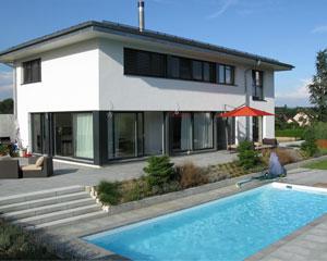 Construction d'une villa à Morges