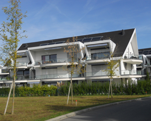 Construction de 3 immeubles de logements en PPE à Préverenges